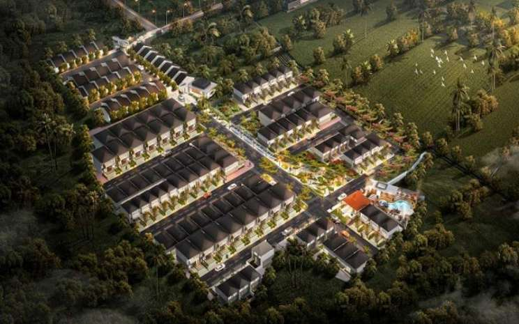 Gambar perumahan yang dikembangkan PT Repower Asia Indonesia. Tbk. - Istimewa