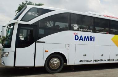 Wow! DAMRI Ganti Mesin Diesel Jadi Bus Tenaga Listrik