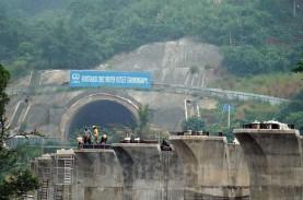 Terowongan 1,8 Km Proyek Kereta Cepat Jakarta-Bandung…