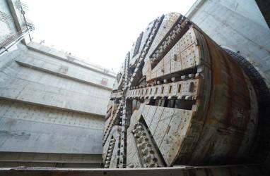 Mesin Bor Proyek Kereta Cepat Jakarta-Bandung Pecahkan Rekor Muri