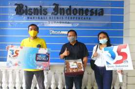 Foto-foto Perayaan HUT ke-35 Bisnis Indonesia di Jawa…