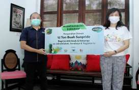 Sunpride Donasikan 12 Ton Buah untuk Masyarakat Terdampak Covid-19