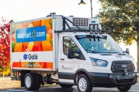 Gaet Gatik, Walmart Operasikan Kendaraan Tanpa Sopir…
