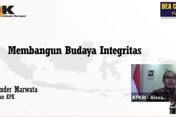 Ini Pesan Wakil Ketua KPK untuk Bea Cukai dalam Peringatan Hari Anti Korupsi Sedunia