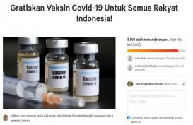 Jokowi Gratiskan Vaksin Covid-19, Petisi Online Netizen Sukses!