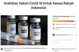 Jokowi Gratiskan Vaksin Covid-19, Petisi Online Netizen…