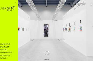 OPPO Art Jakarta Virtual 2020 Buka Pameran Edisi Kedua