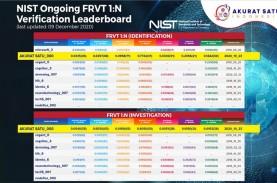 Sistem Biometrik Akurat Satu Lulus Sertifikasi FRVT…
