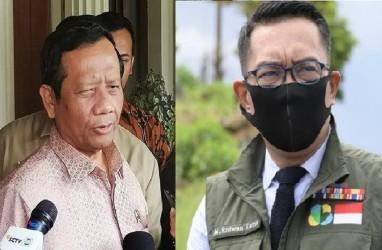 Kronologis Twitwar Ridwan Kamil vs Mahfud MD Soal Kerumunan Rizieq Shihab