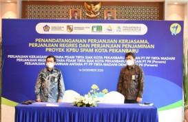 Proyek Air Minum PTPP di Pekanbaru Dapat Penjaminan dari PT PII