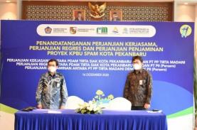 Proyek Air Minum PTPP di Pekanbaru Dapat Penjaminan…