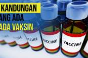 Ini Kandungan yang Terdapat di Dalam Vaksin