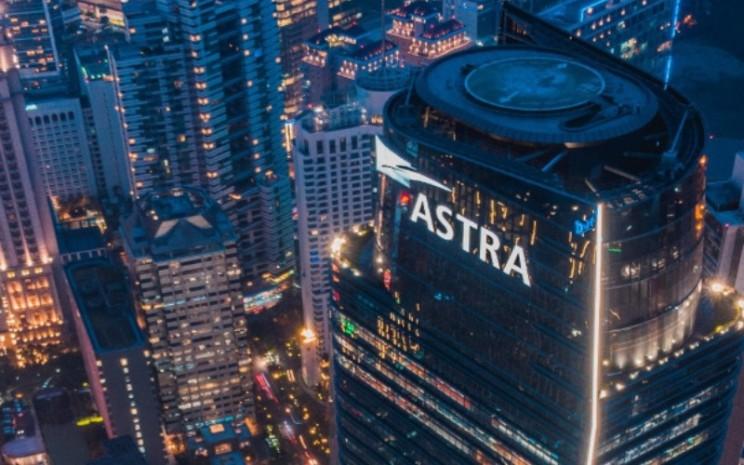 Menara Astra. Gedung perkantoran ini menjadi lokasi kantor pusat PT Astra International Tbk. - astra.co.id