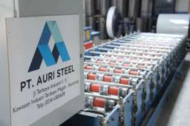 Auri Steel Rampungkan Pabrik Baru Senilai US$4,9 Juta…