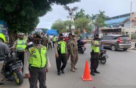 Antisipasi Aksi 1812, Personel Gabungan Sekat Perbatasan Jakarta