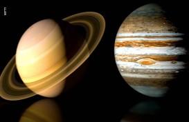 Pertama Kali dalam 800 Tahun, Jupiter dan Saturnus Hanya Berjarak 0,1 Derajat