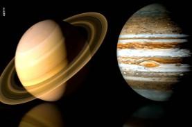 Pertama Kali dalam 800 Tahun, Jupiter dan Saturnus…