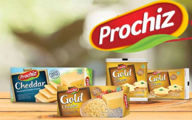 Beberapa portofolio produk keju merek Prochiz yang diproduksi oleh PT Mulia Boga Raya Tbk. (KEJU) / prochiz.com