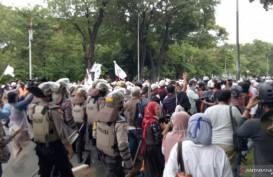 Bubarkan Massa Aksi 1812, Polisi: Kami Tidak Segan-segan Bertindak Tegas