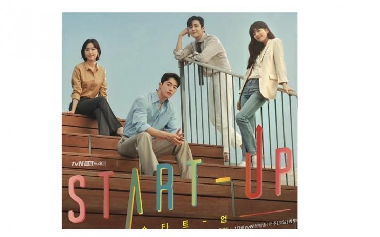 "Drama Korea yang digemari Netizen berjudul ""Start Up""  -  Sumber: Netflix"
