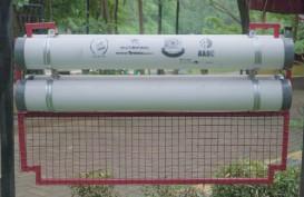 Multi Bintang Pasang Waste Trap di Sungai Cisadane, Ini Teknologinya
