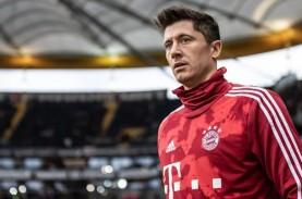 15 Gol, Striker Bayern Munchen Lewandowski Top Skor…