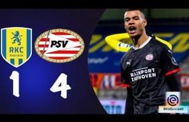 Hasil Lengkap Liga Belanda, PSV Eindhoven Merapat ke Ajax Amsterdam