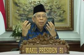Wapres Ma'ruf Amin Singgung Soal Indenpensi Parpol di Muktamar PPP