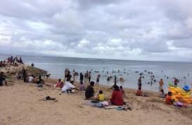 Bali Mulai Ramai, Pantai Sindhu Bali Diserbu Wisatawan