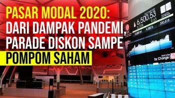 Pasar Modal 2020 : Diskon Besar-besaran Hingga Fenomena Pom-Pom Saham?
