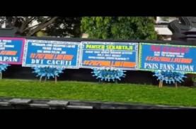 Kantor Gubernur Jawa Tengah Dikirimi Karangan Bunga…