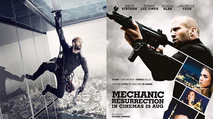 Film Mechanic: Resurrection tayang pukul 21:30 WIB di Trans TV. - ilustrasi