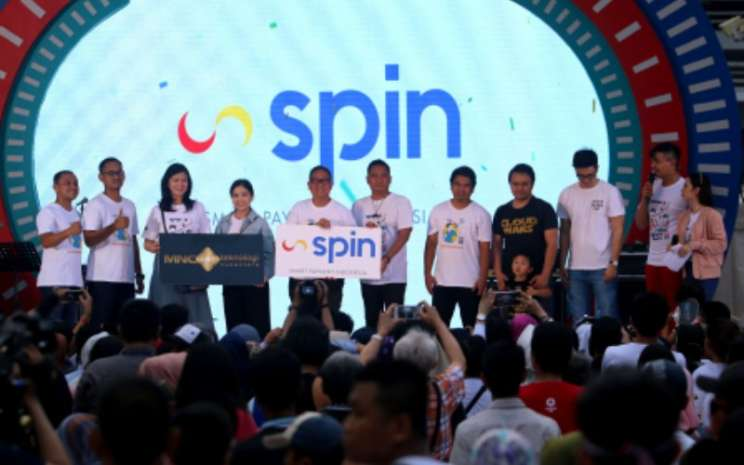 Peluncuran Smart Payment Indonesia (SPIN) Minggu (3/11/2019). SPIN dijalankan PT MNC Teknologi Nusantara (MTN) yang merupakan anak perusahaan PT MNC Kapital Indonesia Tbk (BCAP). - mncfinancialservices.com