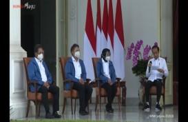 Intip Busana Perkenalan 6 Menteri Baru Kabinet Jokowi, Putih dan Biru. Apa Maknanya?