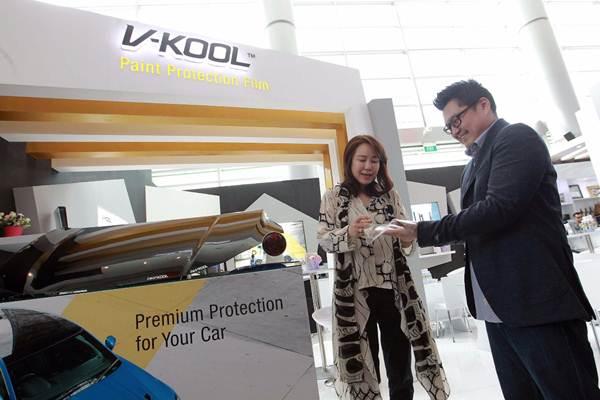 PT V-KOOL Indo Lestari sebagai produsen dan distributor kaca film mobil memastikan masih akan fokus mengembangkan outlet.  - JIBI/Dwi Prasetya
