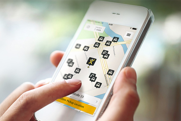 Sejak didirikan pada 2009, Mytaxi telah mengangkut 10 juta penumpang lewat 100.000 pengemudi terdaftar.  - MyTaxi