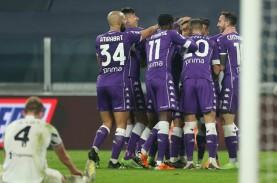 Juventus Akhirnya Kalah, Dihajar Fiorentina di Turin…