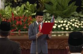 Jokowi Resmi Lantik 6 Menteri Kabinet Indonesia Maju di Istana Negara