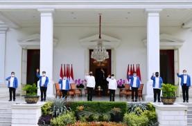 Lantik 6 Menteri, Jokowi Beri Selamat Tanpa Jabat…