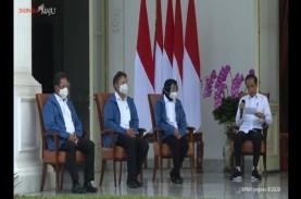 Fakta-fakta Jaket Biru 6 Menteri Baru Jokowi, Buatan…