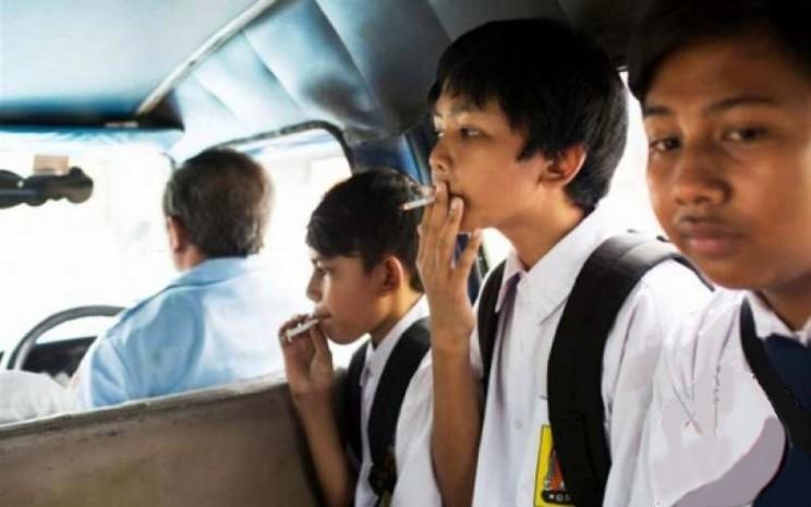 Prevalensi perokok anak semakin meningkat. - Antara
