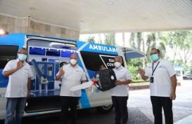 Pelindo III Hibahkan Mobil Ambulans