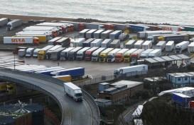 Chaos Jelang Brexit! Ribuan Truk Antre di Pelabuhan Inggris. Prancis Tutup Perbatasan