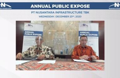Nusantara Infrastructure (META) Anggarkan Capex Lebih dari Rp1,2 Triliun pada 2021