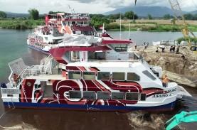 Kemenhub Luncurkan Bus Air di Danau Toba, Begini Wujudnya