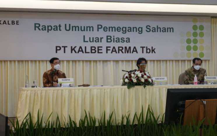 Rapat Umum Pemegang Saham Luar Biasa (RUPSLB) PT Kalbe Farma Tbk (KLBF) pada Rabu, 23 Desember 2020. - Kalbe Farma