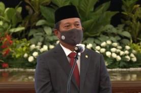 Resmi Jadi Menteri KKP, Sakti Wahyu Trenggono Lepaskan…