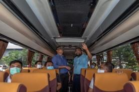 PO SAN Luncurkan Bus Scania, Dilengkapi Teknologi…