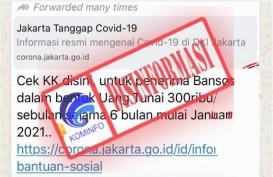Cek Fakta : Ada Bansos Uang Tunai Rp300 ribu per Bulan Mulai Januari 2021, Cek KK!