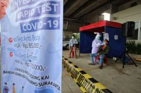 Rapid Test Antigen di Bandara Adi Soemarmo Banyak…